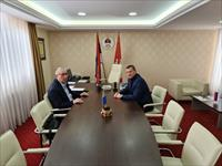 Ombudsman prof.dr. Ljubinko Mitrović talked with the acting Director of the Banja Luka Penitentiary